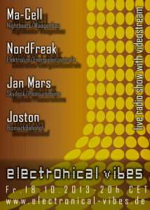 2013-10-18 electronical vibes flyer