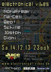 flyer electronical vibes