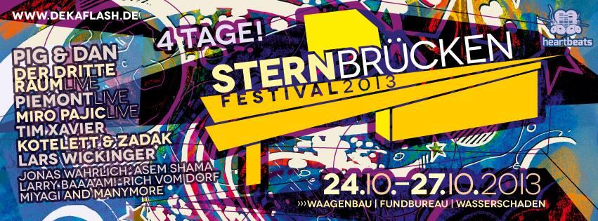 Flyer Sternbrückenfestival